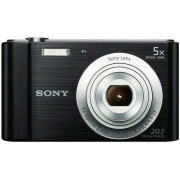 Sony Macchina fotografica digitale Nero 2.7poll LCD With Built-in-Flash 20.1MP No No, DSCW800B.CEH