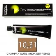 Loreal INOA SUPREME 10,31 Champagne Sutil - tinte 60grs