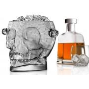 Üveg jégtartó koponya forma 1,6L