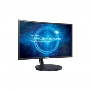 Monitor Curvo Samsung Para Gamers LC24FG70FQLXZX 24 Pulgadas 144hz, 1 Ms, Display Port