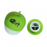 CandyLipz Green (double Lobed style)