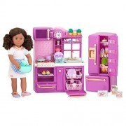 Our Generation Our Generation Gourmet Kitchen Set Purple For 18 Dolls