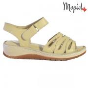 Sandale dama din piele naturala 251120/Bej/Tania