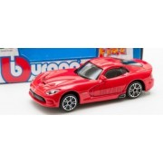 Bburago - 1/43 Street Fire Dodge SRT Viper GTS 2013 (Red - 4 Inches)