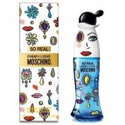 Moschino fragancia para dama moschino so real eau de toillet 100ml