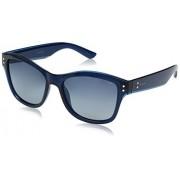 Polaroid Sunglasses Women's Pld4034s Wayfarer, Blue/Blue Gradient Polarized, 54 mm
