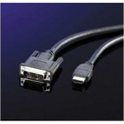 Cable DVI M - HDMI M, 5m, Roline 11.04.5552