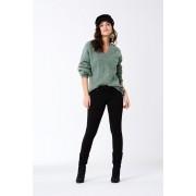 ''Gina Tricot'' ''Skinny low waist superstretch jeans'' Black XL