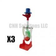 CNH 3 PCS The Famous Lucky Drinking Bird , Magic Drinking Bird