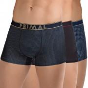 Basic Dots férfi boxeralsó 3 db-os csomagolás többszínű S