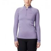 Columbia Sous-vêtement technique à demi-zip et manches longues Midweight Stretch - Femme Dusty Iris M