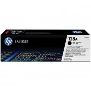 HP 128A Black LaserJet Toner Cartridge (CE320A)