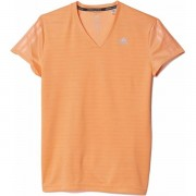 adidas Response SS Tee Dames - Female - Lichtroze - Grootte: Extra Small