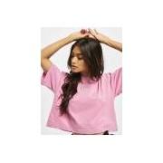 Reebok / t-shirt QQR Cropped in rose - Dames - Rose - Grootte: Medium
