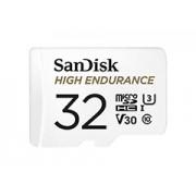 Sandisk Micro SDHC High Endurance 32GB + adapter memóriakártya
