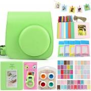 Bolsa Para Fuji Mini8/8+/9 Conjunto Para Fotos - Verde