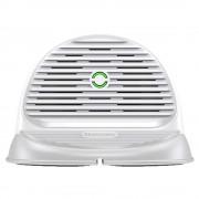 Baseus Szilikon vízszintes vezeték nélküli töltő asztali Qi töltő Csúszásmentesítési Base és a beépített ventilátor (WXHSG-02), fehér