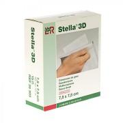 Stella 3D kompressen 7,5x7,5cm