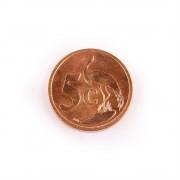 Bani de pe mapamond nr.23 - 50 de LIRE LIBAN - 5 CENTI AFRICA DE SUD