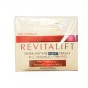 Crema de noapte anti-riduri regenerativa L'Oreal RevitaLift Regenerating Night Cream Anti-Wrinkle + Firming