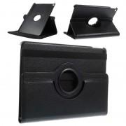 Bolsa em Pele Rotativa para iPad Air 2 - Preto