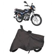 De Autocare Premium Quality Grey Matty Two Wheeler Bike Body Cover For Bajaj CT100