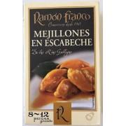Mejillones en escabeche Ramon Franco 8/12 piezas.