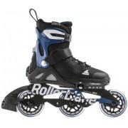 Rollerblade Skeelers Kind Rollerblade Microblade Alu 3WD Aanpasbare (Black/Sport Blue)