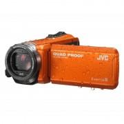 JVC GZ-R405DEU Quad Proof Câmara de Vídeo 10MP Full HD Laranja