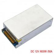 Fuente de alimentacion conmutada JIAWEN AC 110V / 220V a DC 12V 50A 600W