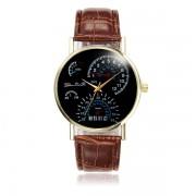 Horloge met PU-Leren Band