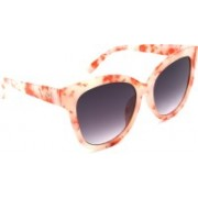 Hrinkar Cat-eye, Oval, Round Sunglasses(Grey)