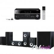 Pachet Receiver AV Yamaha MusicCast RX-V683 + Boxe Onkyo SKS-HT978
