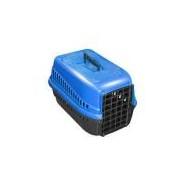 Caixa De Transporte N.2 Cão Cachorro Gato Pequena Azul