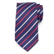 pentru bărbați cravată din microfibre (model 1288) 7993 în întuneric albastru culoare