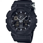 Casio G-Shock Мъжки спортен часовник GA-100BBN-1AER