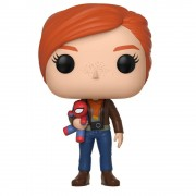 Pop! Plush Figurine Pop! Mary Jane avec Peluche - Spider-Man Gamerverse Marvel
