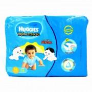 Fraldas Descartáveis Infantis Huggies Tripla Proteção Turma da Mônica Mega Tamanho Médio 5,5 A 9,5 Kg Com 54 Unidades