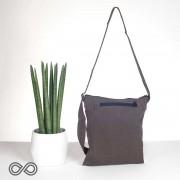 Rawganique Kangaroo Organic Cotton iPad & Tablet Satchel Bag Earth Brown RGBG-045S
