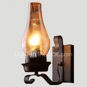 AC 100-240 60 E26/E27 Rustiek/landelijk Vintage Retro Schilderen Kenmerk for Ministijl,Toortswandlamp Muur licht