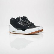 Jordan Brand Air Jordan 3 Retro Gs For Women In Black - Size 35.5