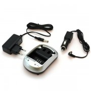 Carregador de Bateria Panasonic DMW-BLE9, DMW-BLG10, DMW-BLH7