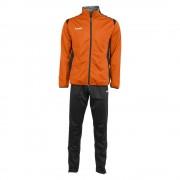 Hummel Trainingspak Paris Polyester Suit oranje - Oranje - Size: Medium