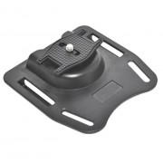 K-BM1 Camera Ceintuur Mount Button Gesp Hanger Clip Statief Voor DSLR SLR Camcorder