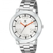 True Colors TC-149 Silver Stainless Steel Men Analog Quartz Casual Watch For Men Watch
