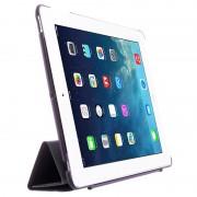 Capa Dobrável Inteligente Four-Fold para iPad 2, iPad 3, iPad 4 - Roxo