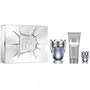 Paco Rabanne Invictus Комплект (EDT 100ml + EDT 5ml + SG 100ml) за Мъже