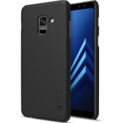 Husa Samsung Galaxy A8+ Plus 2018 Cover Original Nillkin Frosted Case Negru