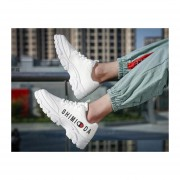 Calzado estudiantil casual para hombre zapatos blanco