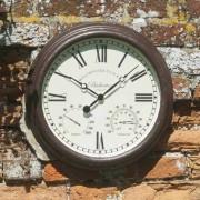 Ceas de perete cu termometru Bickerton